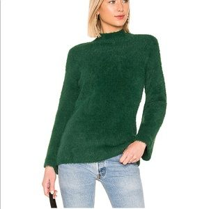 🌸LOVERS + FRIENDS FAITH SWEATER IN EMERALD NWT
